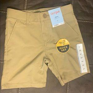 Boy khaki shorts